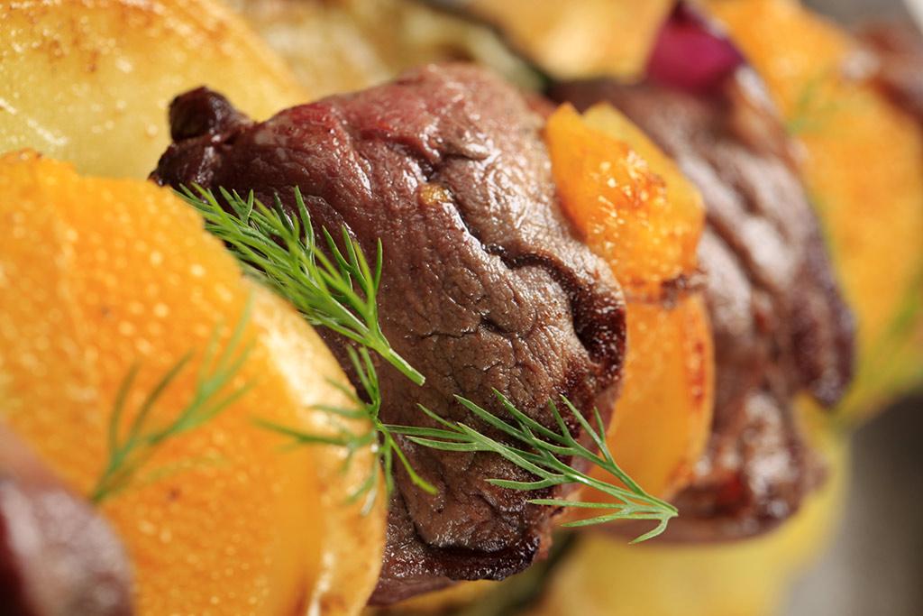 Receta de Carne de Res a la Naranja