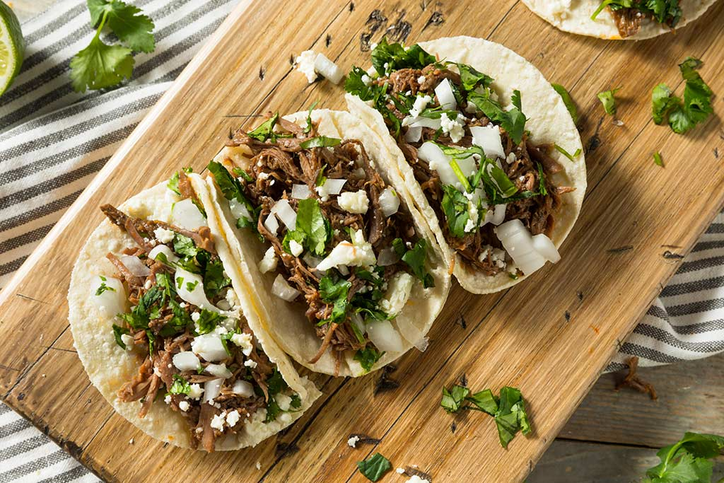 Receta de Carne de Res para Tacos