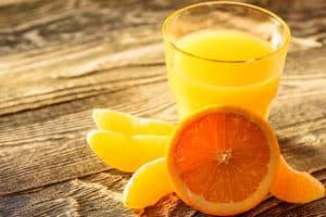 Receta de Jugo de Naranja