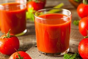 Receta de Jugo de Tomate Preparado