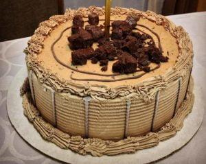 Receta de Pastel Helado de Chocolate