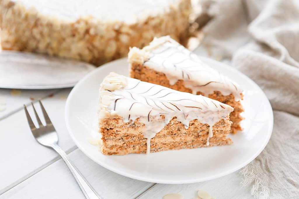 Receta de Pastel Hungaro
