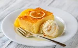 Receta de Pastel Libanes de Naranaja