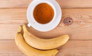 Receta de Té de Banana