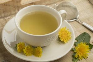 Receta de Té de Diente de León