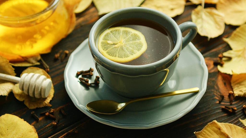 Receta de Té de Hojas de Limón