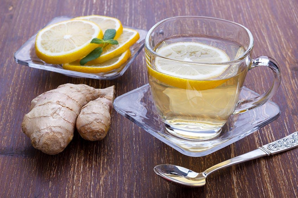 Receta de Té de Jengibre con Limón