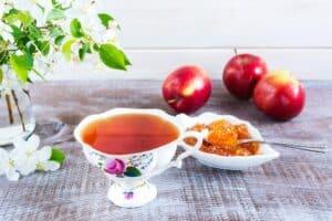 Receta de Té de Manzana