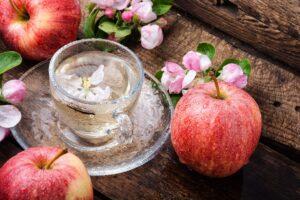 Receta de Té de Manzana con Canela