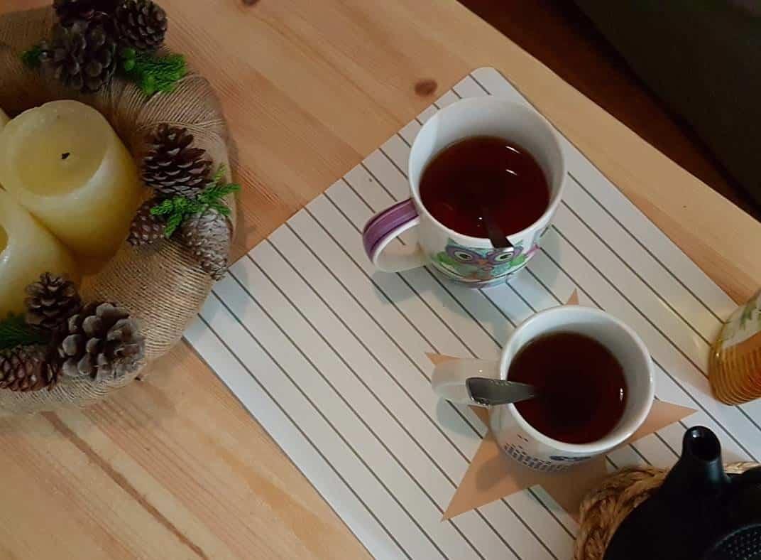 Receta de Té de Vainilla