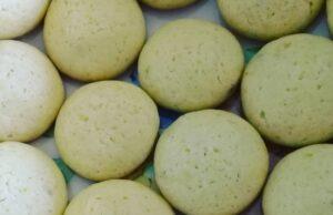 Receta de Galletas de Vainilla y Limón