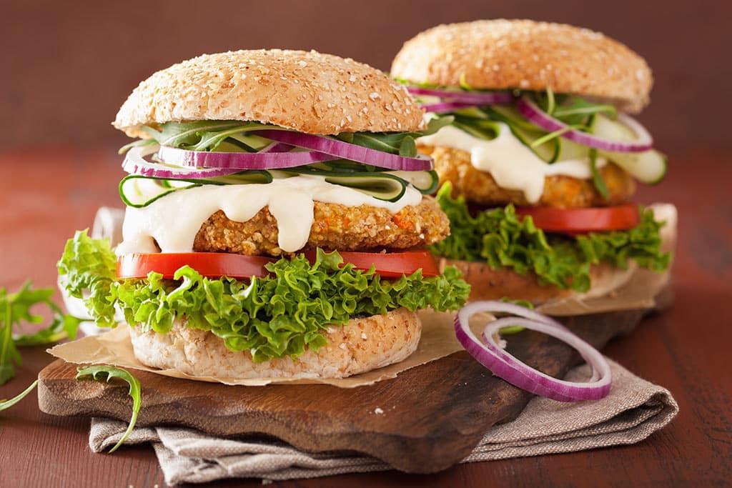 Receta de Hamburguesas Vegetarianas