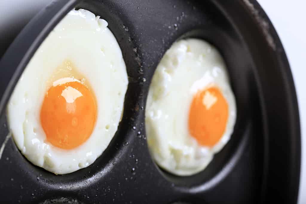 Receta de Huevos Fritos