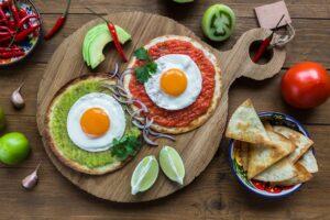 Receta de Huevos Mexicanos