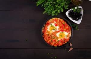 Receta de Huevos Turcos
