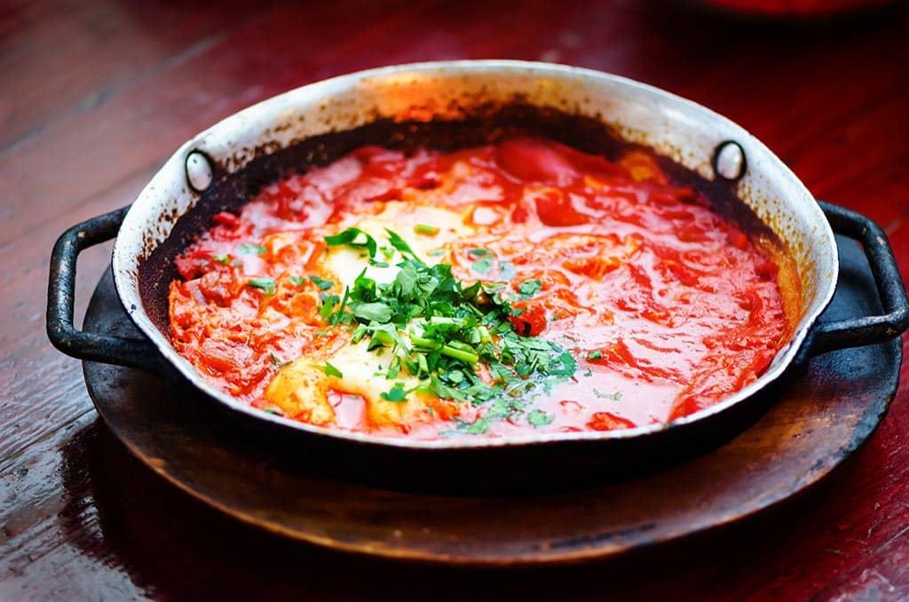 Receta de Huevos con Tomate