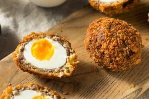 Receta de Huevos en Escoceses