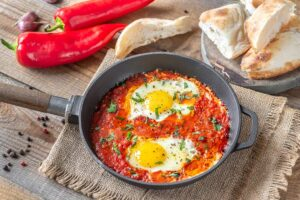 Receta de Huevos en Salsa