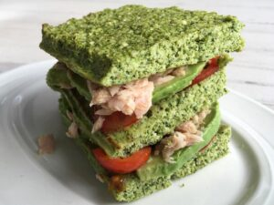 Receta de Sándwich de Brócoli