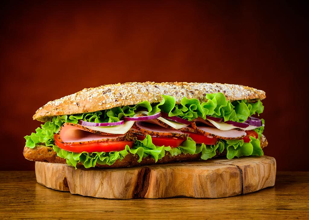 Receta de Sándwich de Carne