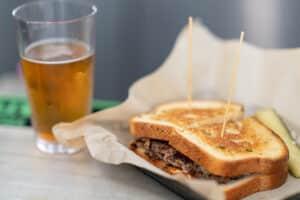 Receta de Sándwich de Pastrami