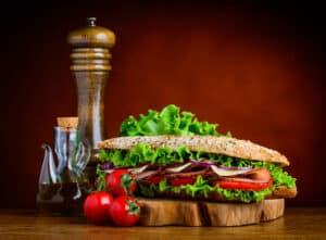 Receta de Sándwich de Verduras
