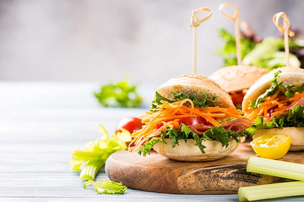 Receta de Sándwich de Zanahoria