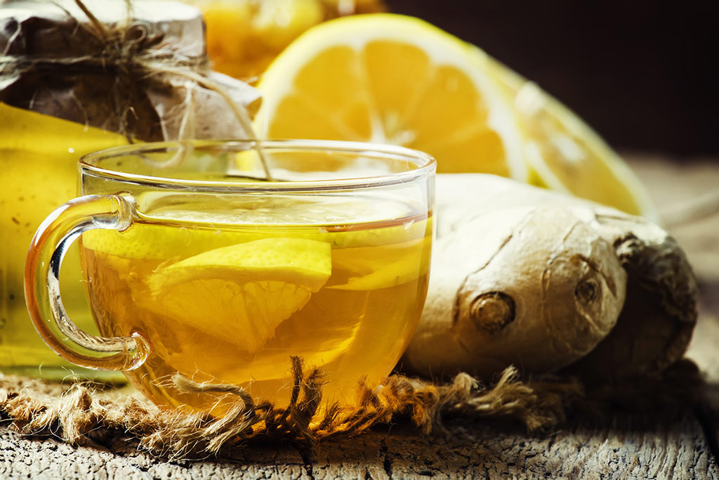 Receta de Té de Limón con miel