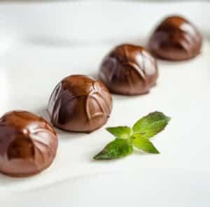 Receta de Caramelos de Chocolate