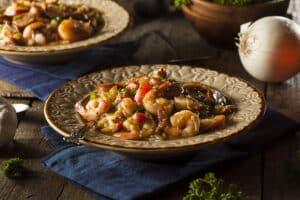 Receta de Salchichas con Camarones