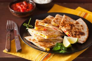 Receta de Quesadillas Mixtas