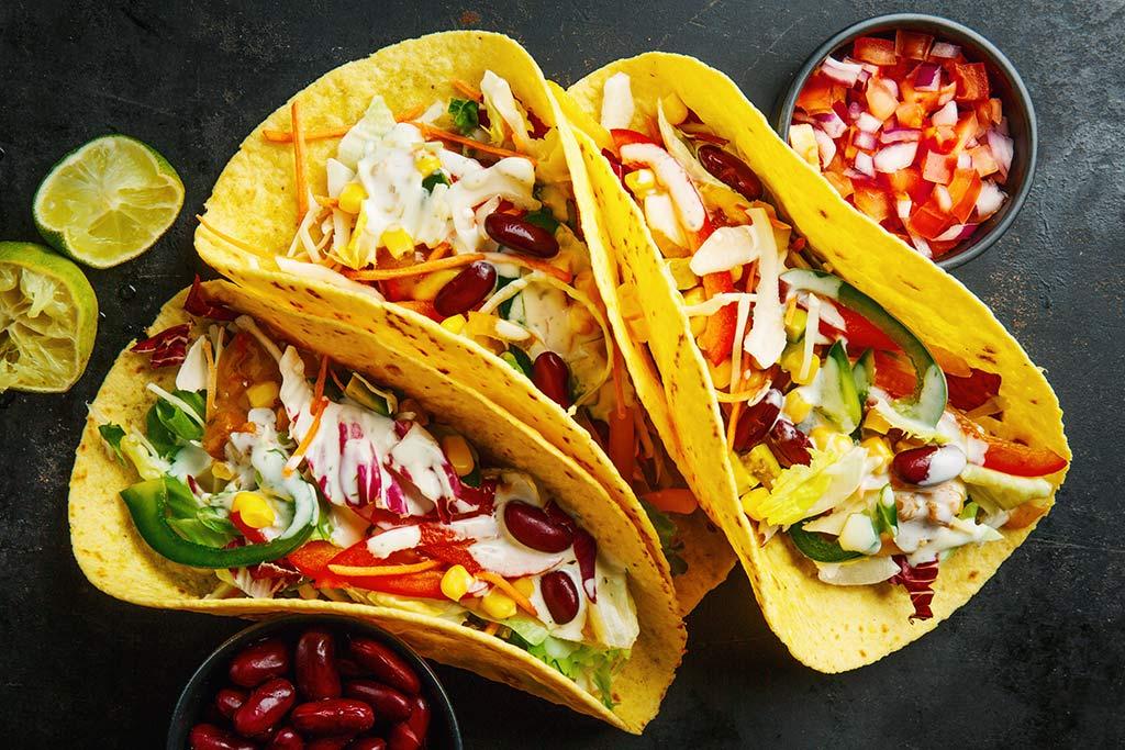 Receta de Tacos Hawaianos