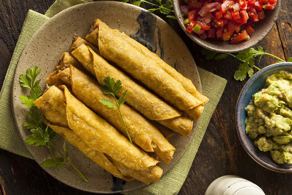 Receta de Tacos Hondureños