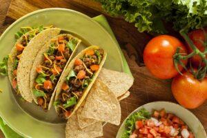 Receta de Tacos con carne molida