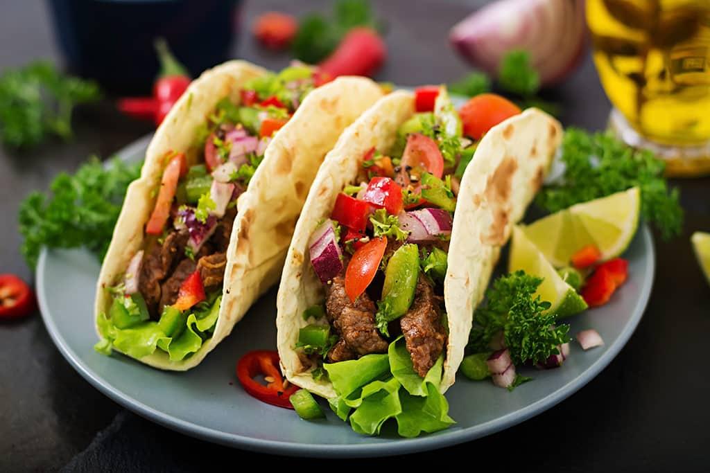 Receta de Tacos de Res