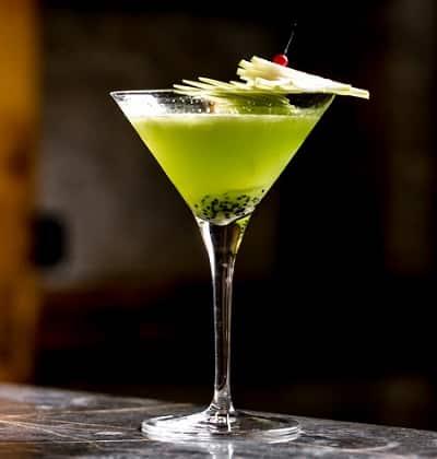 Cóctel de Kiwi con Vodka
