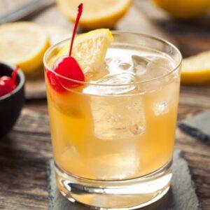 Cóctel de Whisky con Limón