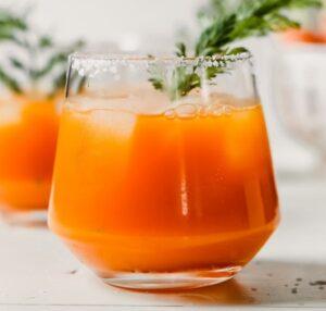 Receta de Cóctel de Zanahoria con Tequila