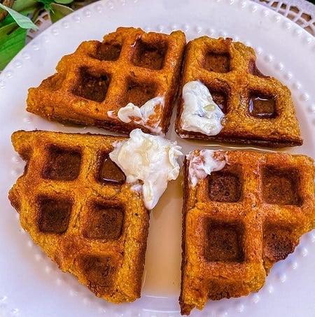 Receta de Waffles Alemanes