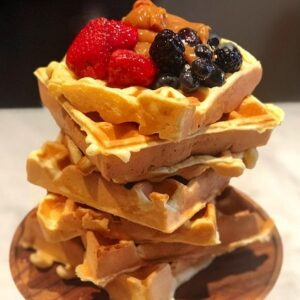 Receta de Waffles Belgas