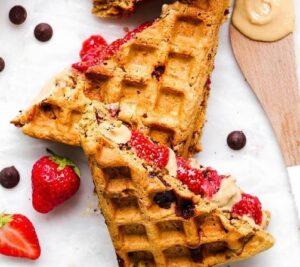 Receta de Waffles Crujientes