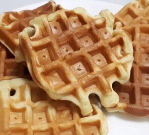 Receta de Waffles Esponjosos