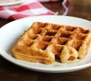 Receta de Waffles Integrales