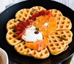 Receta de Waffles Noruegos