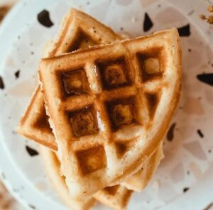Receta de Waffles Sin Harina