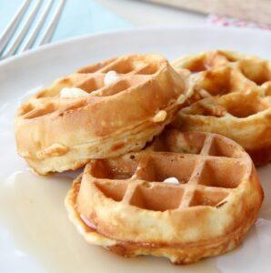 Receta de Waffles Sin Huevo