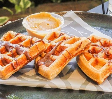 Receta de Waffles al Horno