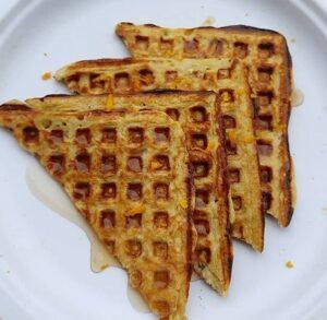 Waffles de Naranja