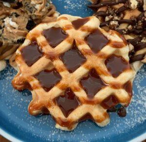 Receta de Waffles en Sartén