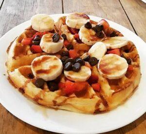 Receta de Waffles Proteicos